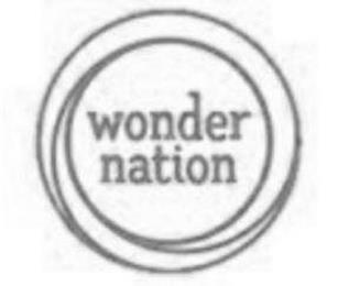 WONDER NATION trademark
