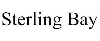STERLING BAY trademark