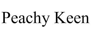 PEACHY KEEN trademark