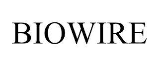 BIOWIRE trademark