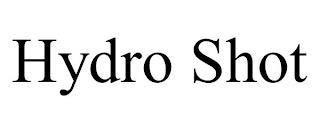 HYDRO SHOT trademark