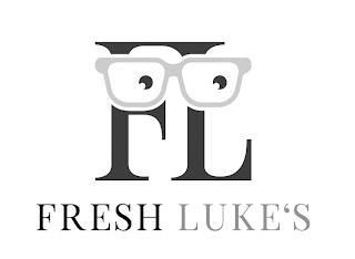 FL FRESH LUKE'S trademark