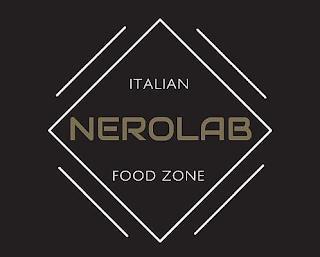 ITALIAN NEROLAB FOOD ZONE trademark
