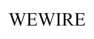 WEWIRE trademark