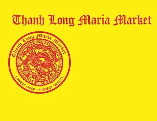THANH LONG MARIA MARKET LOWEST PRICE . HIGHEST QUALITY trademark