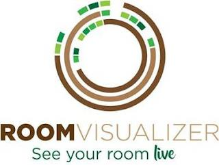 ROOMVISUALIZER SEE YOUR ROOM LIVE trademark