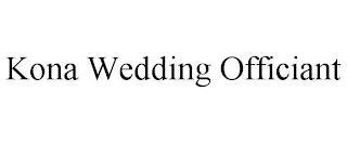 KONA WEDDING OFFICIANT trademark