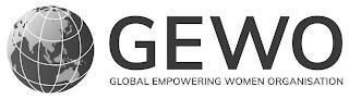 GEWO GLOBAL EMPOWERING WOMEN ORGANISATION trademark