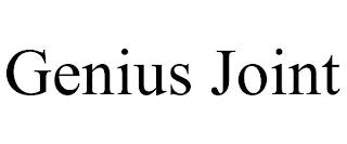 GENIUS JOINT trademark