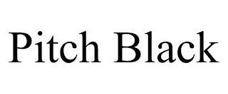 PITCH BLACK trademark