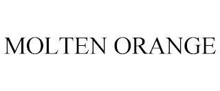 MOLTEN ORANGE trademark
