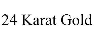 24 KARAT GOLD trademark