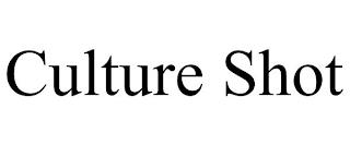 CULTURE SHOT trademark