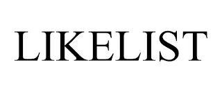LIKELIST trademark