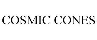 COSMIC CONES trademark