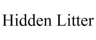 HIDDEN LITTER trademark
