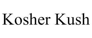 KOSHER KUSH trademark