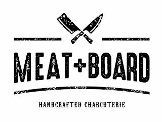MEAT + BOARD HANDCRAFTED CHARCUTERIE trademark