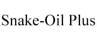 SNAKE-OIL PLUS trademark