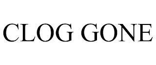 CLOG GONE trademark