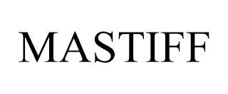 MASTIFF trademark