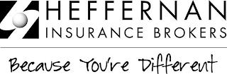 H HEFFERNAN INSURANCE BROKERS BECAUSE YOU'RE DIFFERENT trademark