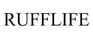 RUFFLIFE trademark