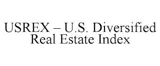 USREX - U.S. DIVERSIFIED REAL ESTATE INDEX trademark