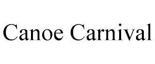 CANOE CARNIVAL trademark