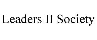 LEADERS II SOCIETY trademark