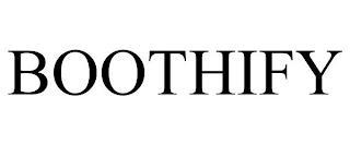 BOOTHIFY trademark