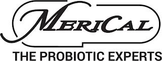 MERICAL THE PROBIOTIC EXPERTS trademark