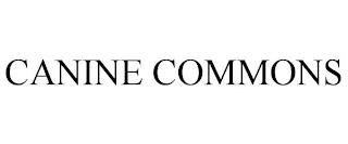 CANINE COMMONS trademark