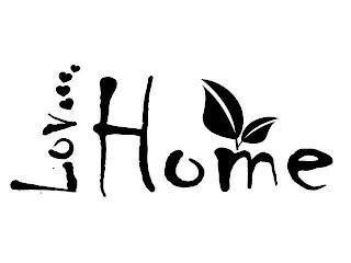 LOV HOME trademark