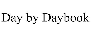 DAY BY DAYBOOK trademark
