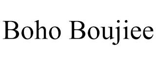 BOHO BOUJIEE trademark