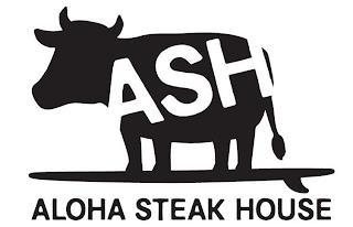 ASH ALOHA STEAK HOUSE trademark