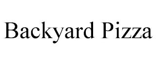 BACKYARD PIZZA trademark