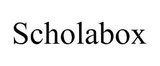 SCHOLABOX trademark