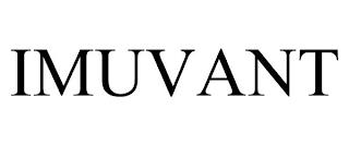 IMUVANT trademark