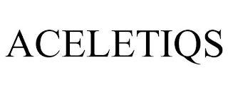 ACELETIQS trademark