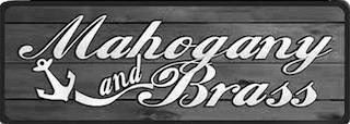 MAHOGANY AND BRASS trademark