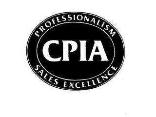 CPIA PROFESSIONALISM SALES EXCELLENCE trademark