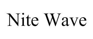 NITE WAVE trademark