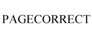PAGECORRECT trademark