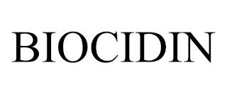 BIOCIDIN trademark