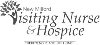 NEW MILFORD VISITING NURSE & HOSPICE THERE'S NO PLACE LIKE HOME trademark
