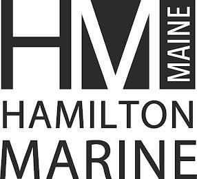 HM MAINE HAMILTON MARINE trademark