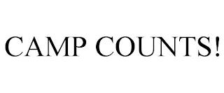 CAMP COUNTS! trademark