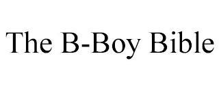 THE B-BOY BIBLE trademark